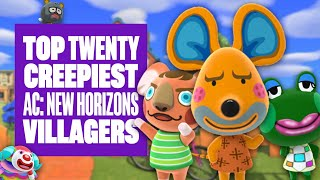 Top 20 Creepiest Villagers In Animal Crossing: New Horizons - BUT ARE THEY REALLY ALL THAT BAD?