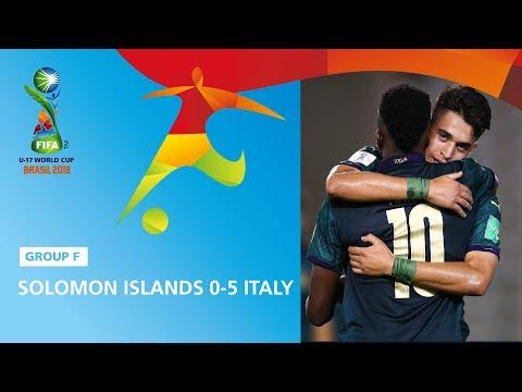 Solomon Islands v Italy Highlights - FIFA U17 World Cup 2019 ™