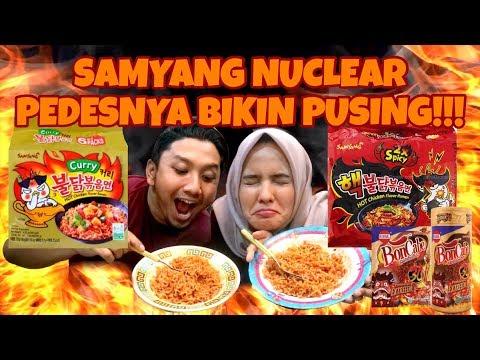 NGABISIN SAMYANG NUCLEAR PAKE BON CABE SENDIRIAN!!!!