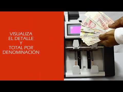 Contadora Valorizadora  detectora de Billetes LINCE 600 NOVOCASH PERU