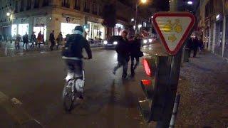 preview picture of video 'Vélo à Rouen : Quand les cyclistes n'en font qu'à leur tête'
