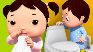 🔴Baby Shark Wash Your Hands   ABC Song   Wheels On The Bus   Nursery Rhymes & Songs Little Baby Bum