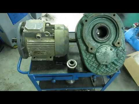 Мотор + буровий редуктор + чудо клієнт:))