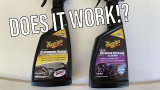 Meguiars Interior Detailing Product (How Good Is It?)