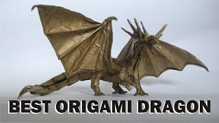 50 Best Origami Dragon - Most Complex Origami Ever