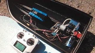 Радиоуправляемый кораблики для рыбалки своими руками