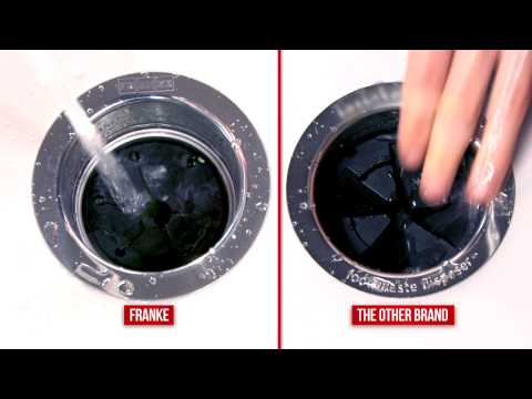 Franke Waste Disposers VS The Other Brand