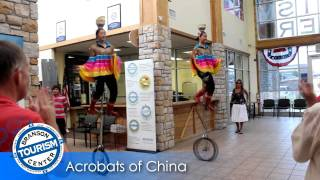 Acrobats of China Visit Branson Tourism Center Video