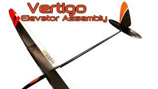 Vertigo F5J elevator control horn assembly