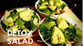 Eating Healthy Detox Salad And Lost Weight 3 EASY HEALTHY SALAD RECIPE ( 3 Time A Days )