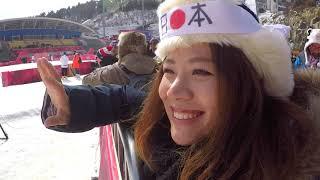 WhosTV#28平昌オリンピックVlog3女子BIGAIR予選