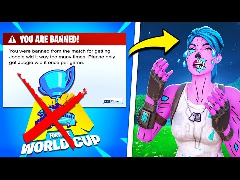 Why I got BANNED from the Fortnite World Cup
