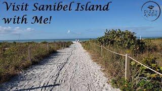 Visit SANIBEL ISLAND with Me! Beach Walk & Shelling (February 2019)