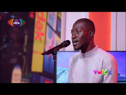 Akwasi auditions for Voice Factory; can he make it?