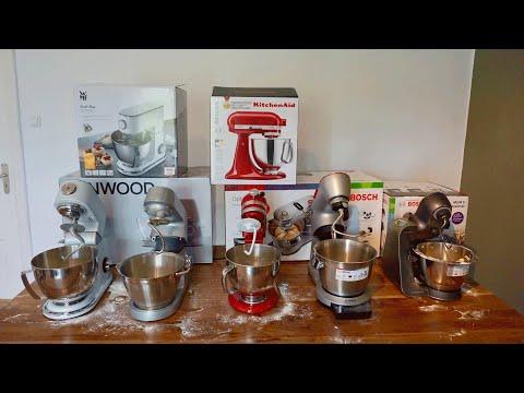 Küchenmaschinen Test - 5 Geräte im Praxistest (WMF, Kenwood, KitchenAid & 2x Bosch)