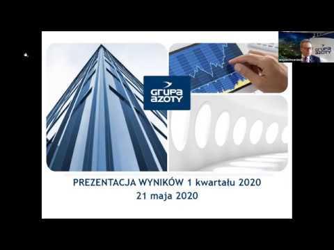 Prezentacja wyników za 1 kwartał 2020 r. - zdjęcie