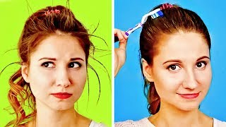 36 HAIR HACKS THAT CAN MAKE LIFE EASIER