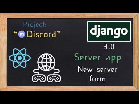 Django and ReactJS together - Server app new server form | 14 thumbnail