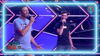 Father and son horrify the judges with a Miley Cyrus cover | Auditions 2 | Family Duo 2018