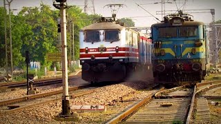 160 kmph FAST MOOVED GATIMAN EXPREES PASSING THROUGH AT ASOATI BY ARYAN SHARMA