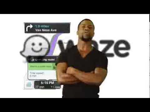 Waze Has New Celebrity Voice Navigation