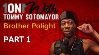 Tommy Sotomayor Vs Brother Polight! Do Blacks Only Want To See Other Blacks Struggling? Pt 1