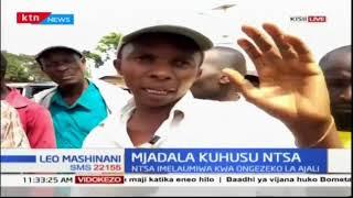 Hisia za wakaazi wa Kisii kuhusu kuondolewa kwa NTSA barabarani