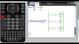 Graphically Solving Trig Equations on TI-Nspire - Most