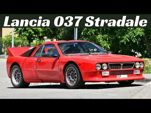 Lancia 037 Stradale Engine Sounds