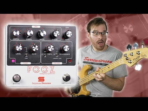 Seymour Duncan Fooz (Bass Demo)