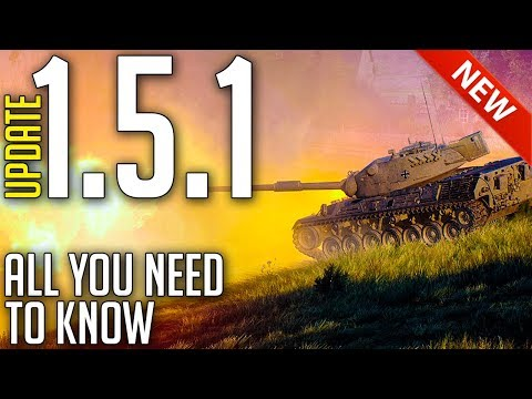 Everything New with Update 1.5.1 ► World of Tanks 1.5.1 Patch Review