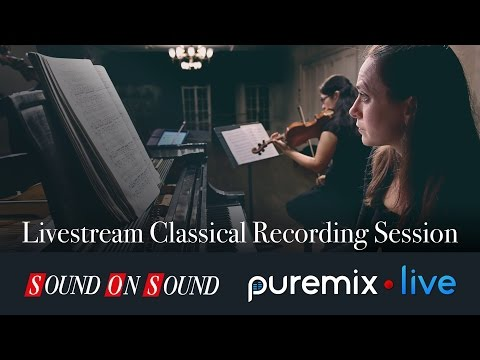 Live Classical Recording Session W/Melody Fader & Co Mp3