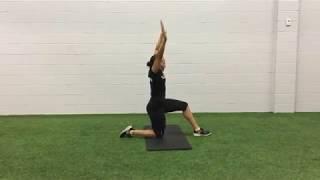 Hip Matrix Stretch For the Hip Flexors and Spine