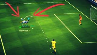 КАК ЗАБИТЬ ГОЛ ЧЕРЕЗ СЕБЯ В FIFA MOBILE 19???