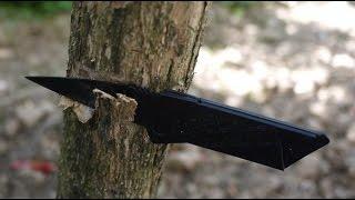 Острый Нож кредитка Sinclair Cardsharp 2, раскладной нож в виде пластиковой карты от компании 24Argo - видео