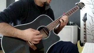 dream theater - beneath the surface acoustic cover