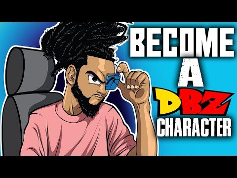 How To Turn Yourself Into A DBZ Character !  – Full Tutorial ( ADOBE ILLUSTRATOR )