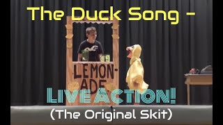 The Duck Song - Live Action! (Stage Version with NEW Ukulele Cover)