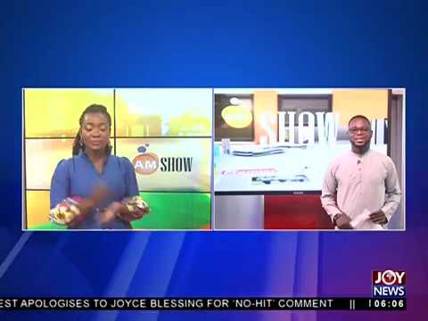 AM Show Intro on JoyNews (15-6-18)