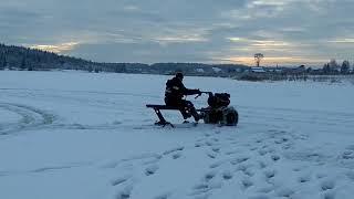 Самоделки для рыбалки техника по снегу