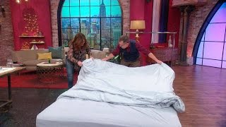 Use This Simple Trick To Put Your Duvet Cover On