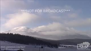 02-18-2019 Woodland Park, CO Amazing Post Winter Storm Time Lapse