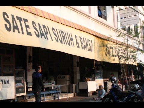 Video Wisata Kuliner Khas Salatiga, Sate Sapi Suruh dan Baso, Kota Salatiga