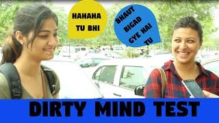 Dirty Mind Test  Delhi Girls Openly Talking About Balloon | Double Meaning Question Babajikagyan