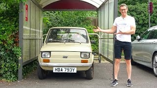 See why a Fiat 126 is the BEST car for driving in London!