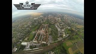 preview picture of video '2014-08-14 Tychy -  Osiedle A Stary Browar - Widok na Tychy 400m DRON'