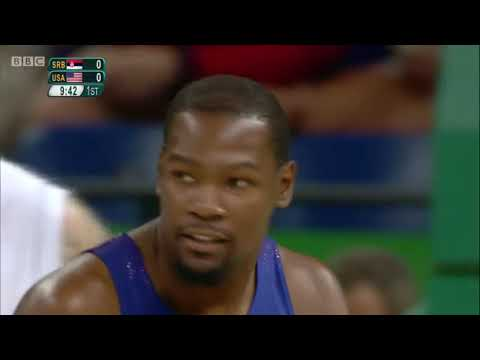 Basketball Finals United States vs Serbia Olympics Rio 2016