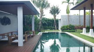 Tropical, Open & Relaxing Four Bedroom Balinese Style Pool Villa in Layan, Phuket