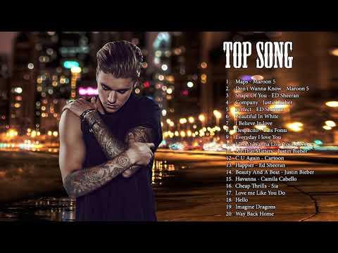 Pop 2019 Hits - Justin Bieber, Maroon 5, Ed Sheeran, Taylor Swift, Sam Smith, Pink, Adele