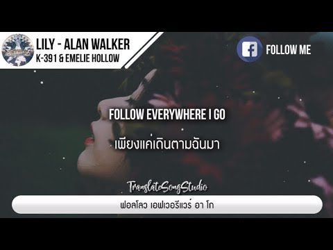 แปลเพลง Lily - Alan Walker, K 391 & Emelie Hollow